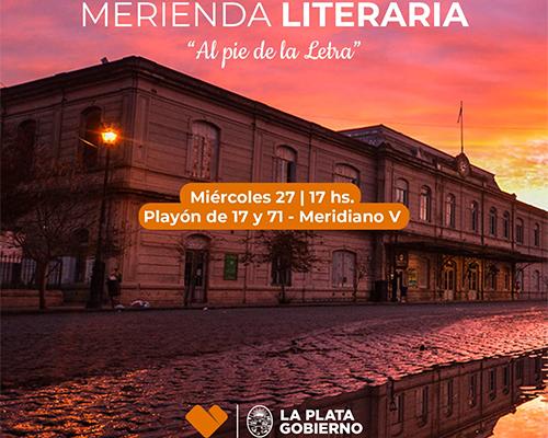 """ESCRITORES COMPARTIRAN SUS RELATOS EN LA MERIENDA LITERARIA """"AL PIE DE LA LETRA"""""""