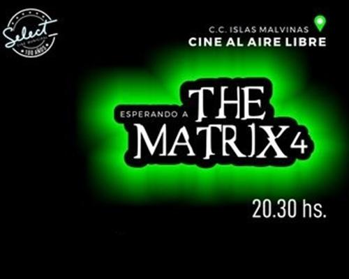 """CICLO DE CINE """"ESPERANDO A THE MATRIX 4"""""""